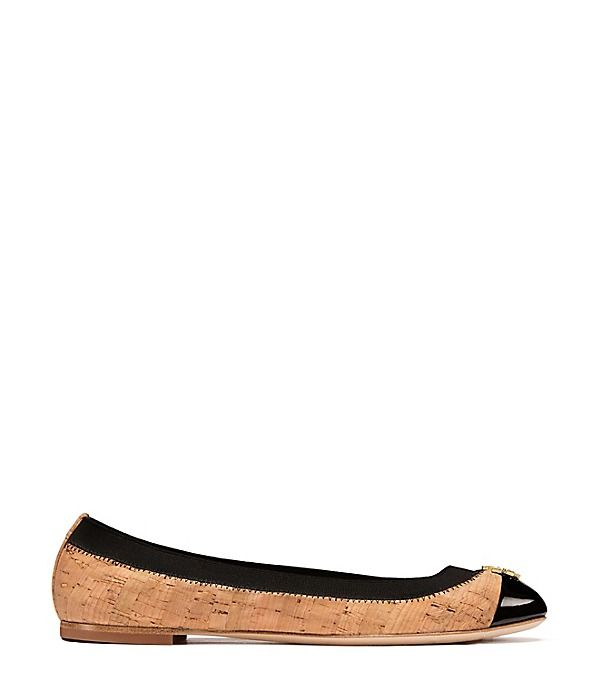 Visit Tory Burch to shop for Jolie Cork Ballet Flat and more Womens View  All. Find designer shoes, handbags, clothing & more of this season's latest  styles ...