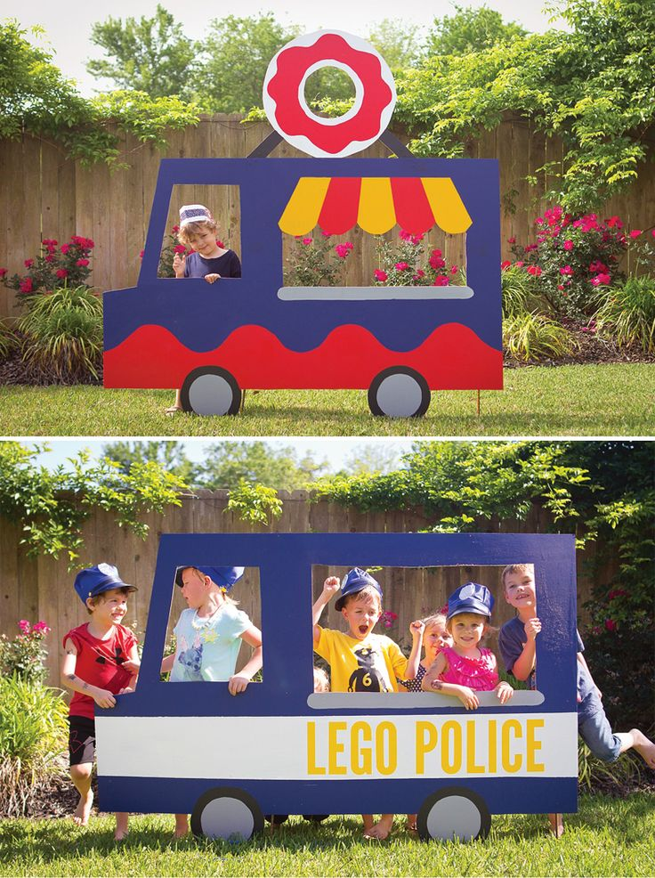 Making The Most Of Your Diy Photo Props Lego Police