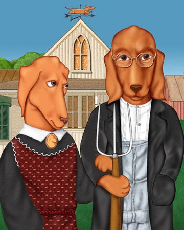 566 Best American Gothic Parody Art Images On Pinterest