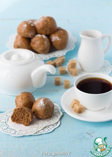 Медовые булочки на пару - кулинарный рецепт