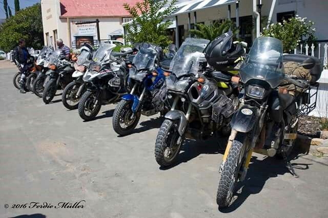 March Moto Madness South Africa 2016 group.  What an event!! Baviaanskloof,  Eastern Cape. #AMA #africanmotorcycleadventure #ama