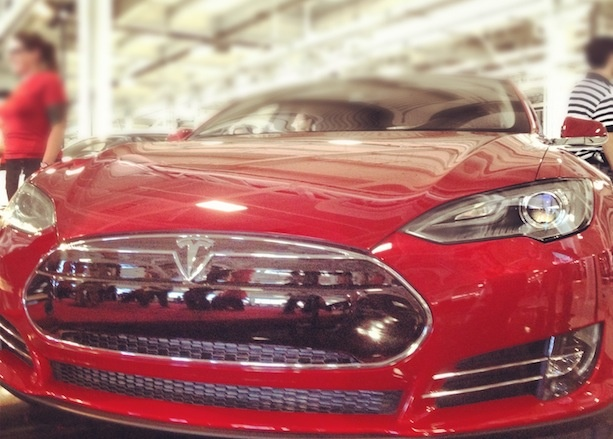 Electric Dreams: First Tesla Model S Rolls Out of Factory [PICS]