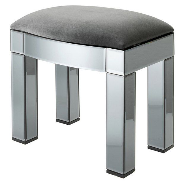 Buy Argos Home Canzano Stool - Mirror