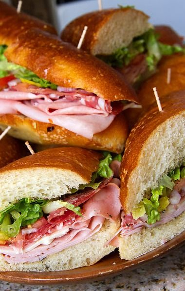 Italian Hoagies (1) From: Lady By The Bay, please visit