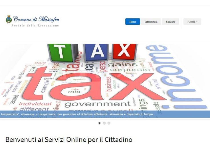 Il Comune di Massafra avvia un servizio on line per le tasse