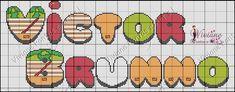 Oi meninas vim postar gráficos do mono do graves e os nomes que montei de amostra .podem copiar a vontade,bjkas ...