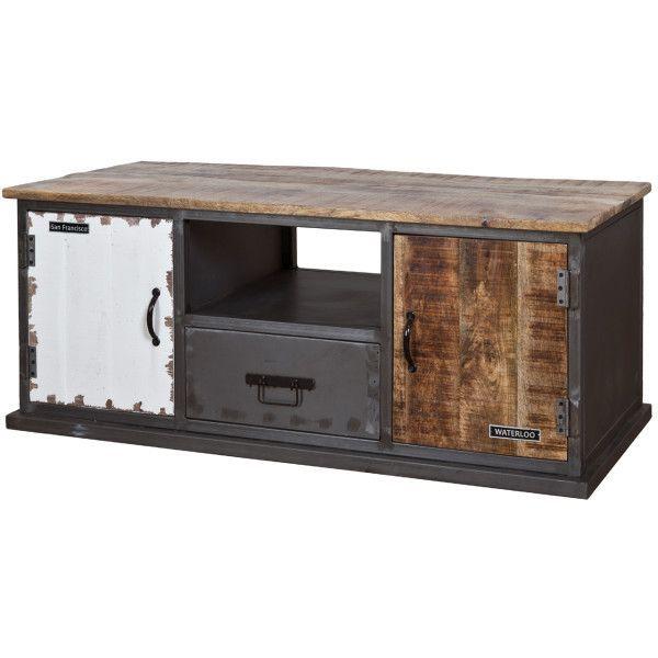 17 beste idee n over houten meubelen op pinterest zelfgemaakte meubels doe het zelf meubelen - Meubilair tv industrie ...