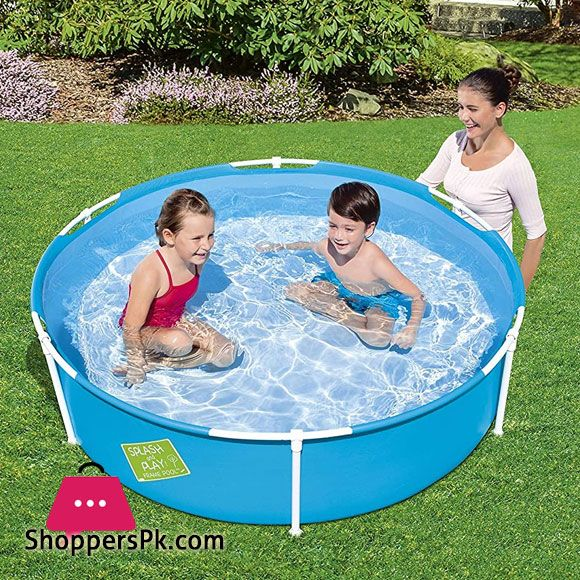 Buy Bestway My First Frame Pool 5 Feet X 15 Inch 56283 At Best Price In Pakistan Pool Portable Swimming Pools Swimming Pools
