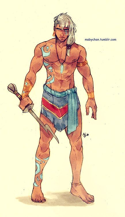 Male!Kida by Maby-chan