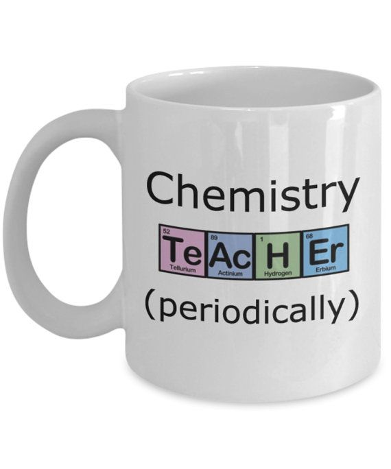 Chemie Lehrer Becher Chemielehrer in regelmäßigen von JingleWares