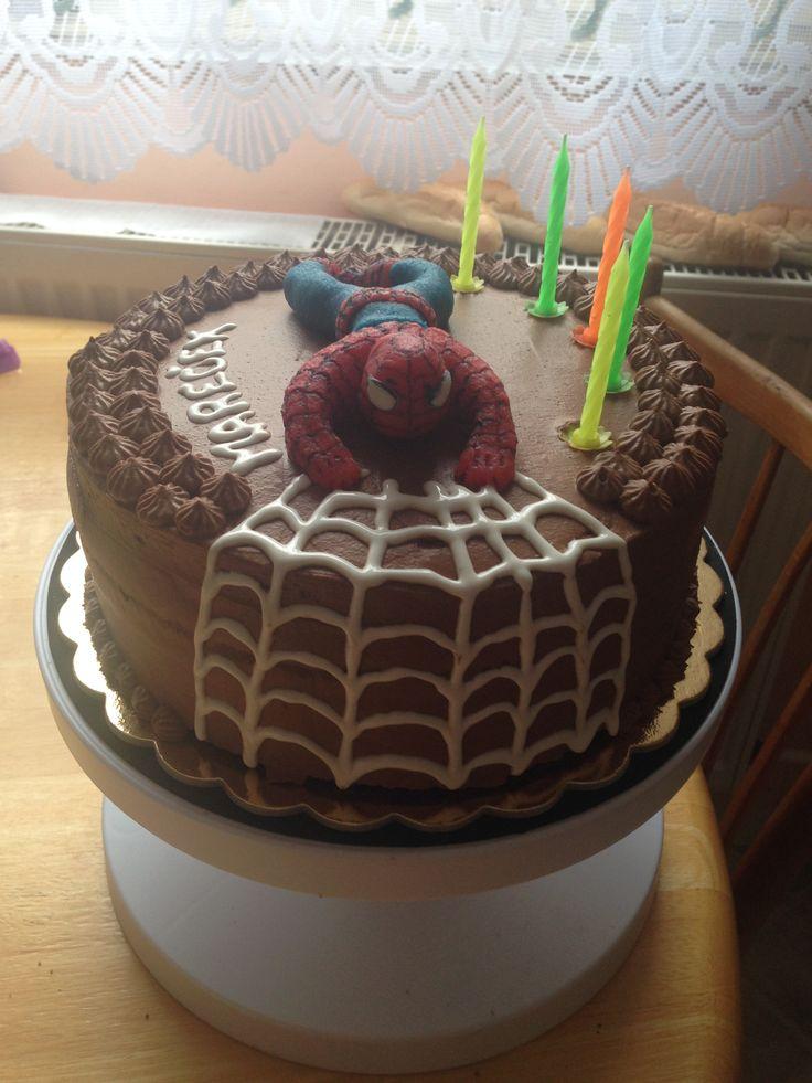 Paříždký dort se Spidermanem