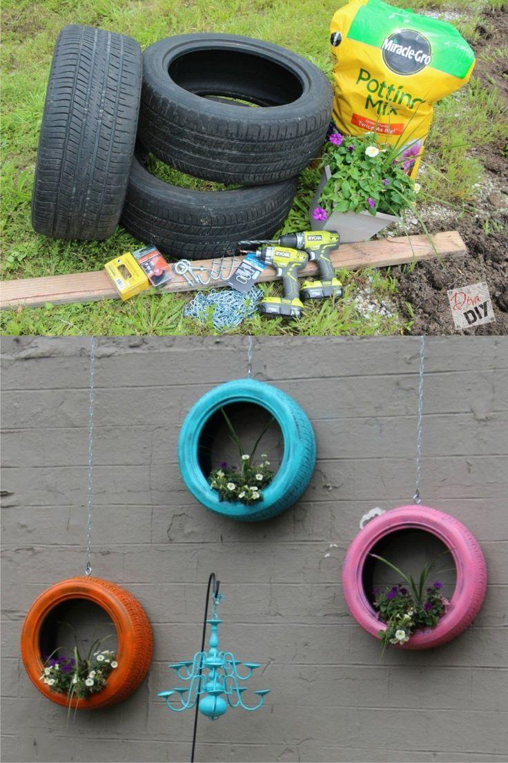 25 ideas destacadas sobre jardineras colgantes en - Colgadores de macetas ...