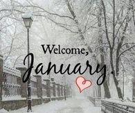 Welcome January