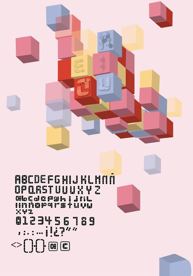 Lala Bauhaus Free Font, #Free, #Graphic #Design, #Resource, #TTF, #Typeface…