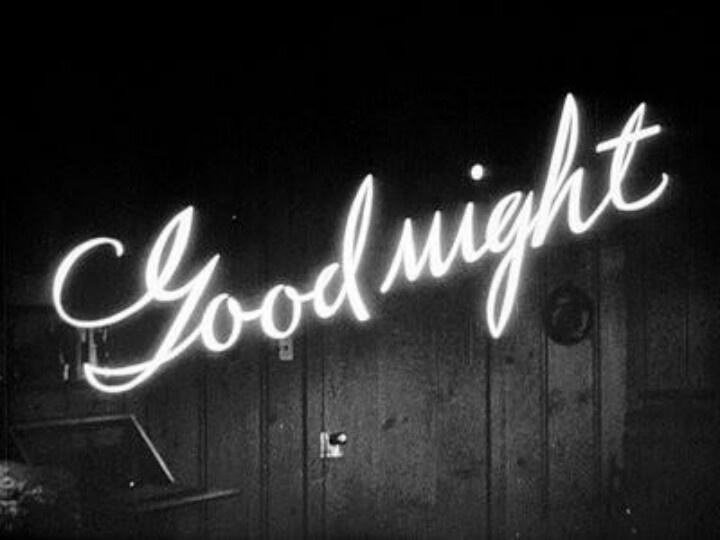 Buenanotte. Bonne nuit.