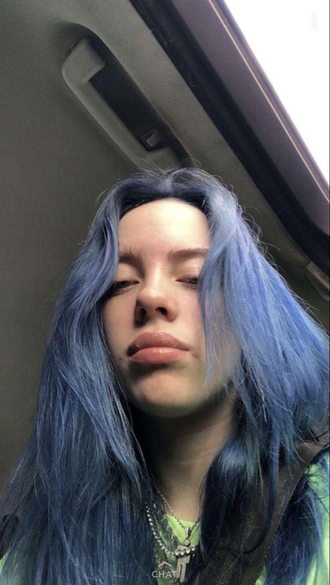 Light Blue Aesthetic Header : light, aesthetic, header, Kate♍️, Billie, Eilish, Hair,, Light, Grunge