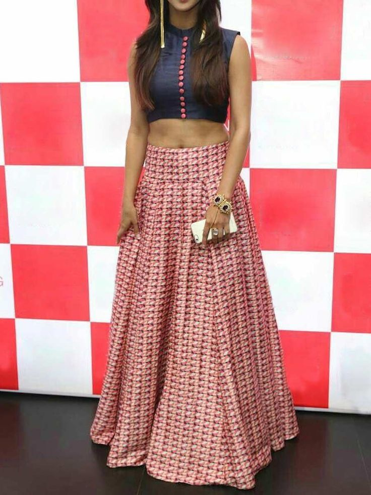 Off White And Amaranth Red Taffeta Silk Party Embroidered Lehenga