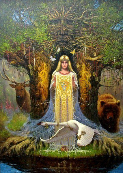 Slavic Deusa Mãe Terra