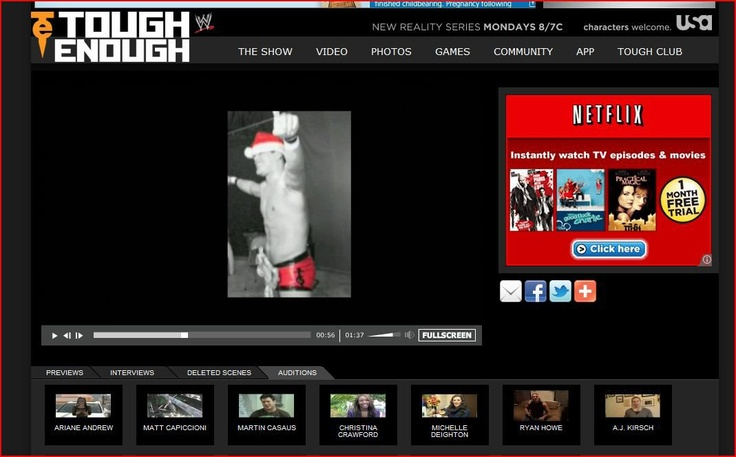 Martin Casaus used one of my pictures for his WWE Tough Enough Audition :-)    twitter.com/... edibleviolas.blog... allpoetry.com/... pearlviolas.devia... pearlviolaphotogr... www.linkedin.com/... pinterest.com/... www.thebesttalent...
