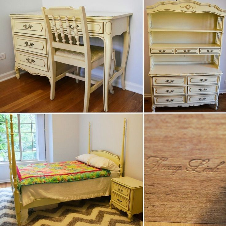 Best 25 french provincial bedroom ideas on pinterest - Bassett bedroom furniture 1970 s ...