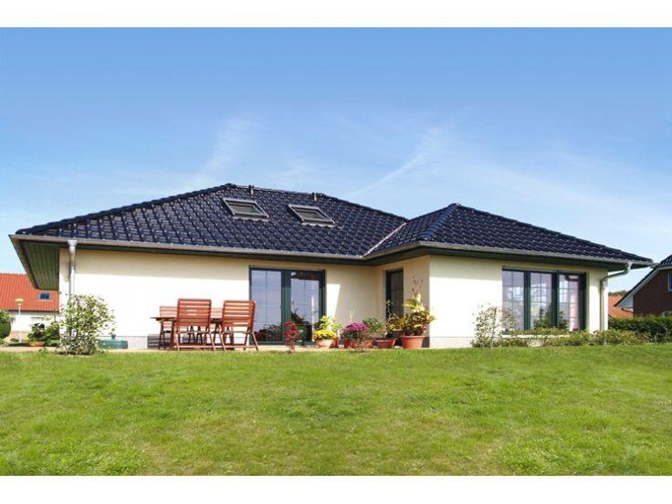Bungalow 3 98 w einfamilienhaus von elbe haus for Massivhaus bungalow