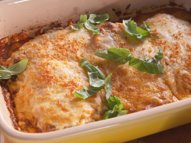 Foolproof Chicken Parmesan recipe from Nancy Fuller via Food Network