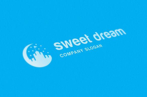 Sweet Dream Logo by Vepix on @creativemarket