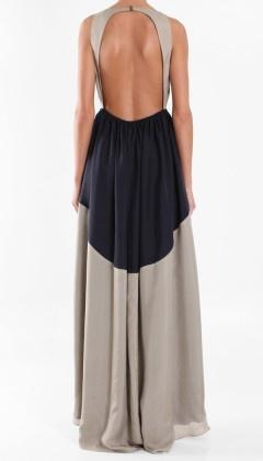Tibi Silk Long Dress.