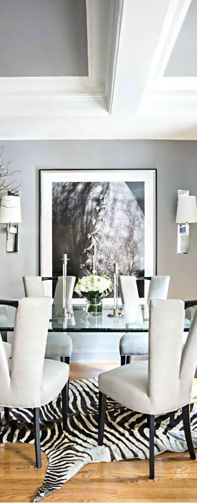 Animal Prints ● Dining Room