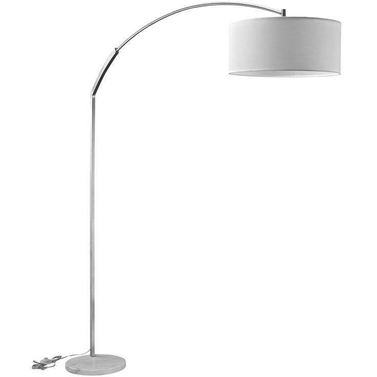 Modern marble floor lamp