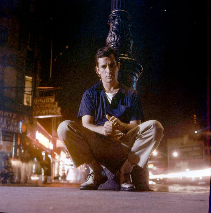 Jack Kerouac in New York in 1958.