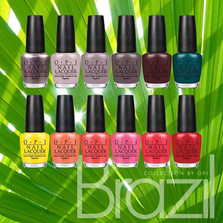 OPI's latest #Brazil #collection is a #festival of colour for the eyes. A good way to get your #samba on!
