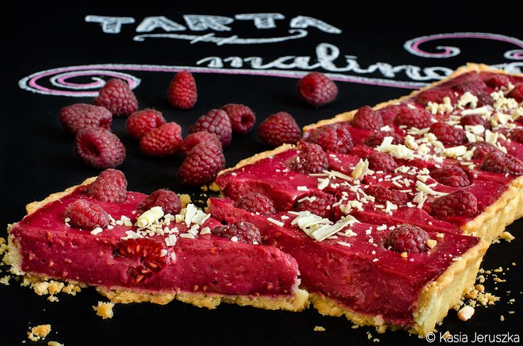 raspberry curd tart