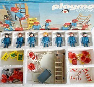 PLAYMOBIL 3403 SET POMPIERS