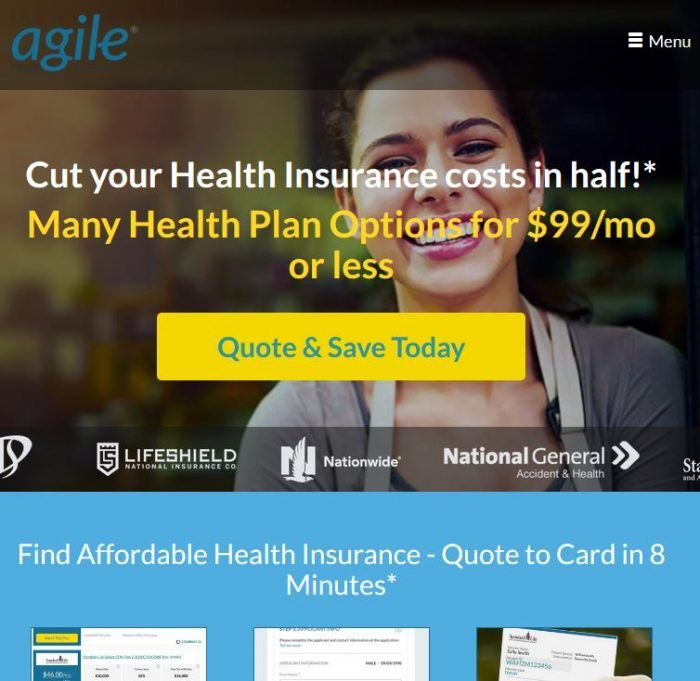 Agile Health Plan Options For 99 Mo Or Less That S 50 Off