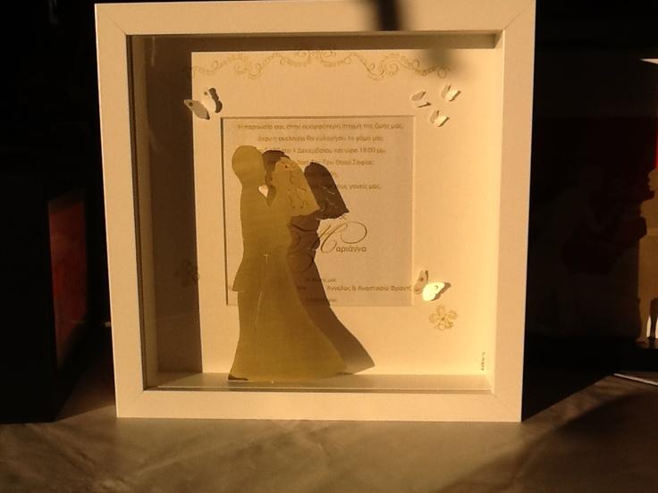 Custom made wedding present by didiBliss