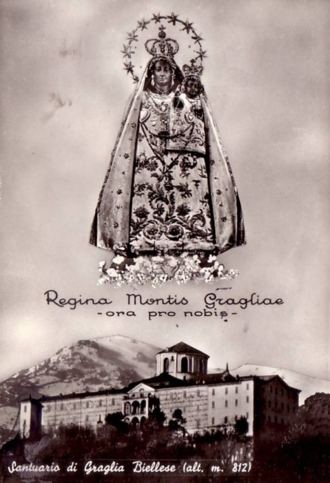 allaboutmary:    Regina Montis Gragliae    The miraculous Madonna and sanctuary of Graglia in Piedmont, Italy.