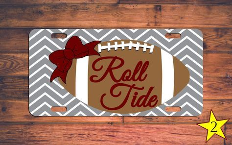 ROLL TIDE Alabama Football License Plate Chevron Custom Roll Tide Crimson Tide Car Tag Monogram Alabama Tag Custom Alabama Plate Customized by TheMonogramStand on Etsy https://www.etsy.com/listing/249953659/roll-tide-alabama-football-license-plate #rolltide #alabama #bamanation #bama #alabamafootball #crimsontide #bamagirl