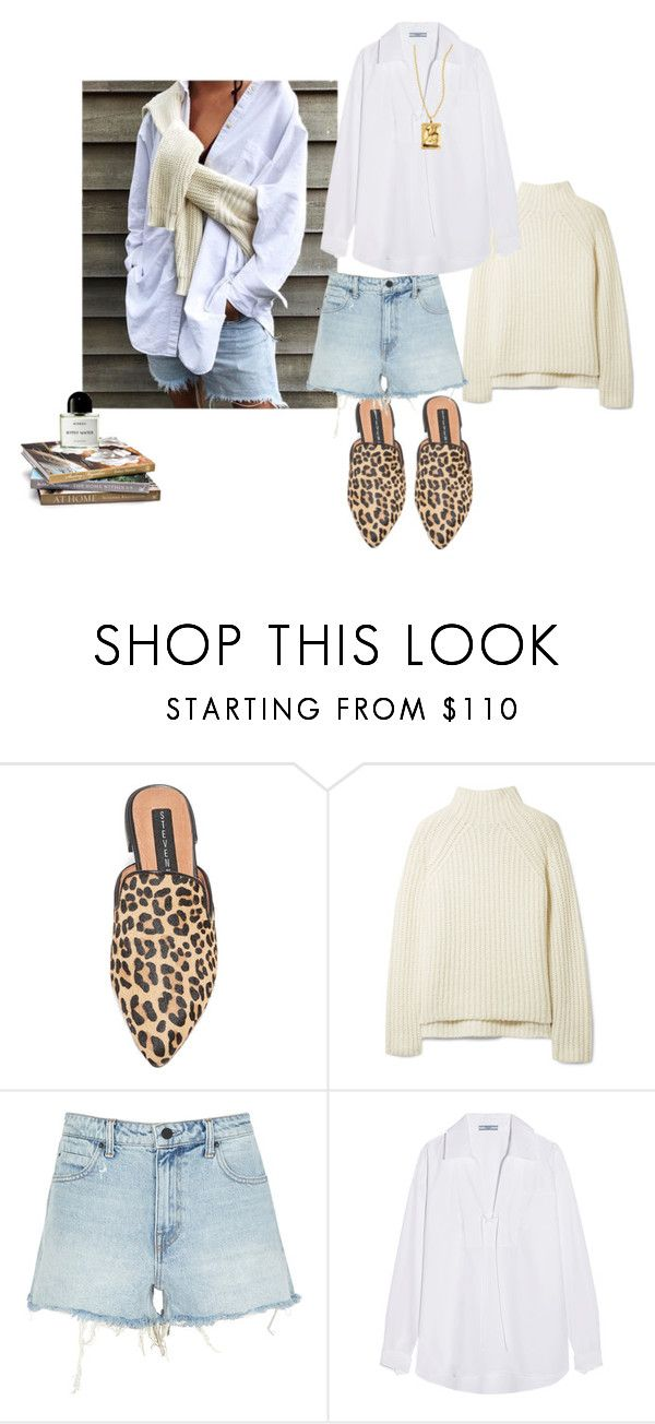 """""""Untitled #237"""" by fashiondisguise on Polyvore featuring Steven, Theory, T By Alexander Wang, Prada and Byredo"""