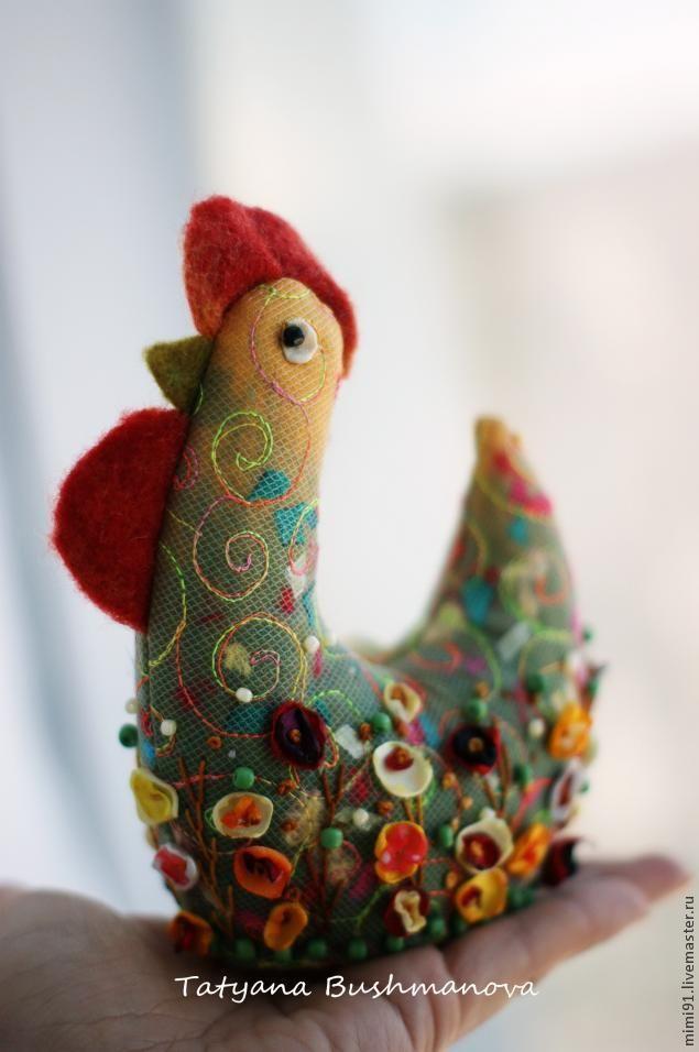 Видео мастер-класс: пасхальный Петушок - Ярмарка Мастеров - ручная работа, handmade