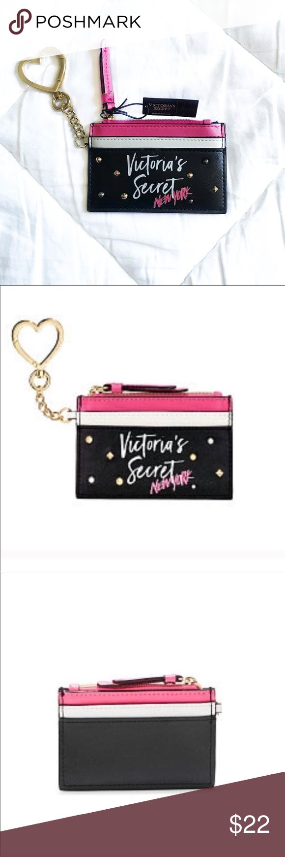 Victoria's Secret ID Credit Card Holder / Keychain Brand new with tags Victori…