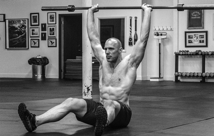The overlooked Z-Press adds muscle to your upper body and core