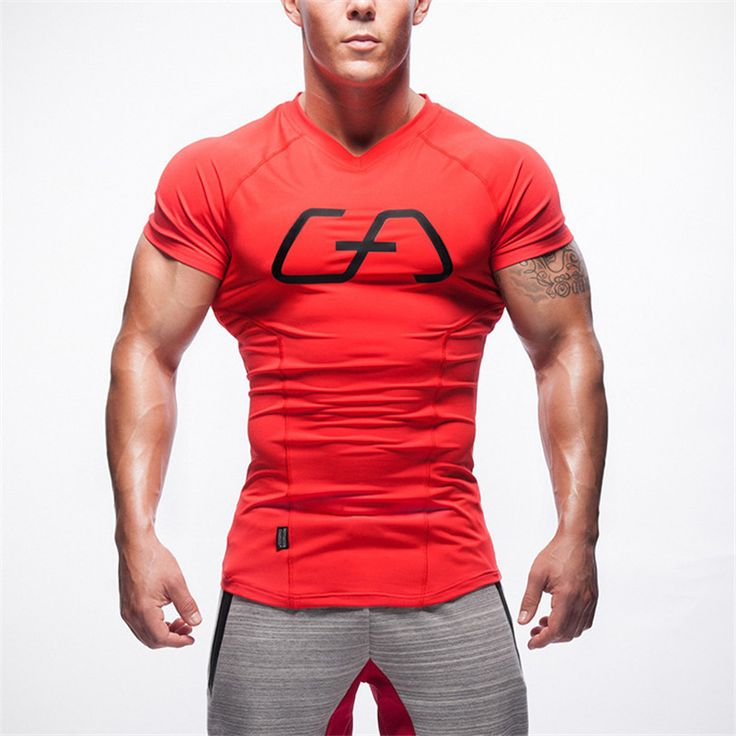 New Men Golds T-Shirt Tops Cotton Brand Fitness Bodybuilding Workout Shirts Mens T Shirt Short Sleeve Gasp Top Tee