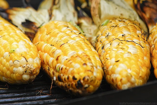 Ang aka Cambodian Grilled Corn-Quite possibly the best grilled corn ...