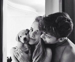 #cute #love #couple #dog #boy #girl #home #hair