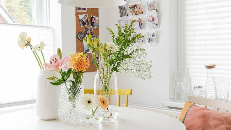 Op het blog laat Binti Home 5 inspirerende stylingtips zien met vazen.