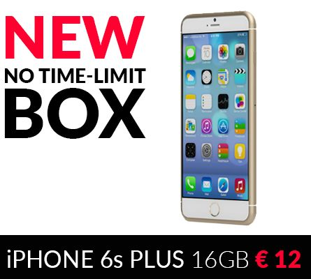 iPhone 6s plus 16 gb - Buy it for € 12 or get 100%Cashback!