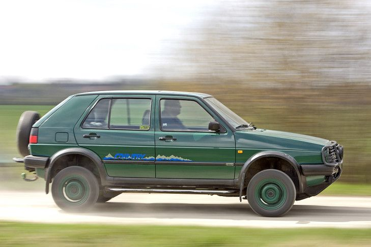 VW Golf Country.  Sweet 4x4