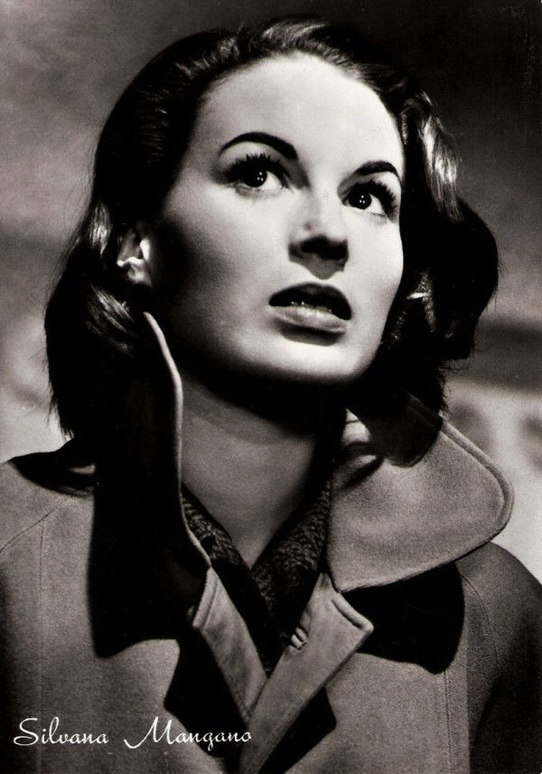 Italian Actress of the Day • Silvana Mangano (She's also Giada De Laurentiis' grandmother)
