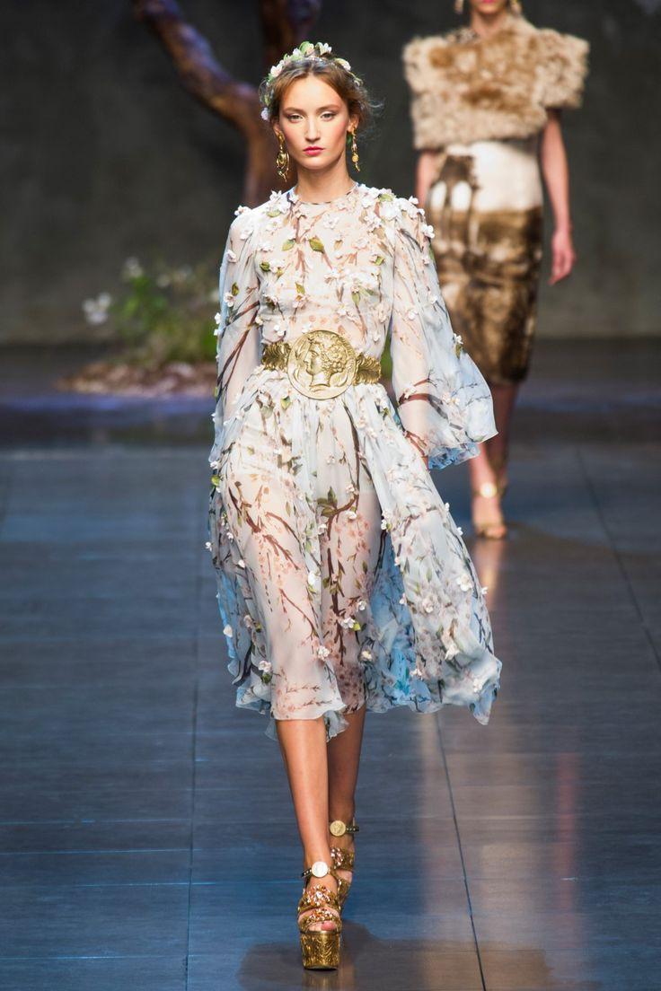 Dolce & Gabbana Milan Fashion Week Spring/Summer 2014